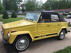 1973 Volkswagen Thing  1973 Volkswagen Thing Style 181 Yellow Runs Great!