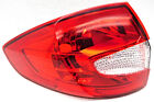 OEM Ford Fiesta Left Driver Side Quarter Mount Tail Lamp Lens Crack, Less Trim