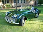 1961 Triumph TR3 British Racing Green over Biscuit British Racing Green over Biscuit! Recently Restored & Upgraded TR3