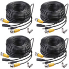 Masione 4 PACK 150ft Video Power Security Camera Extension Cable Wire for CCTV D