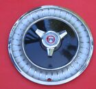 1963 Ford Fairlane with Spinner; Hub Cap Wheel Cover