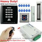 RFID Card and Password Security Access Control System+Door Magnetic Lock+Remote