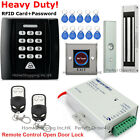 RFID Card and Password Access Control System+Magnetic Lock+2 Remote Controls New