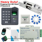 Fingerprint+RFID Card+Password Door Access Control System+Electric Strike Lock