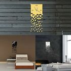 Luxury DIY 3D Wall Clock Home Decor Bell Cool Mirrors Wall Stickers Art Watch TW