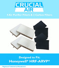 4 Honeywell 'R' Air Purifier Filter & 2 'A' Carbon Filter Kit Fits HPA090 series