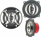 "SDX Pro Audio 5.25"" 4-Way Car Speakers (pair) CS16050"