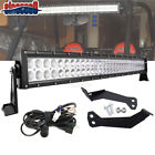 "For POLARIS RZR 900&1000 XP 30""inch 180W LED Light Bar Below Roof Mount Bracket"