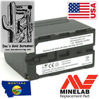 ✪ High Capacity ✪ for Doc's Gold Screamer  Minelab GPX 5000 3yr warranty✪NP-F970