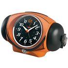 SEIKO CLOCK Alarm clock Analog PYXIS ULTRA RAIDEN Orange Metallic NR441E
