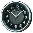 SEIKO CLOCK Alarm clock Analog EL Backlight Black Metallic KR895K