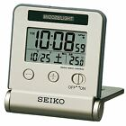 SEIKO CLOCK Alarm clock Traveler radio wave digital calendar SQ772G