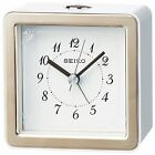 SEIKO CLOCK Alarm clock Analog LED Backlight Light Pink KR898P