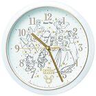 SEIKO CLOCK Disney Time Analog CRYSTAL SEASON White pearl FW805W