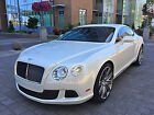 2014 Bentley Continental GT Speed 2014 GT SPEED 2DR Coupe, Rare Ghost White on Red Intr, Only 4K Miles, Warranty!