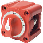 BLUE SEA 6006 BATTERY SWITCH MINI ON/OFF RED W/KNO
