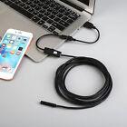 1.5M 6 LED Cámara Endoscópica Para Iphone Android 720P 5.5mm Cable Impermeable