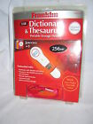 Franklin MWD-170 USB Merriam-Webster Dictionary / Thesaurus ~ New Factory Sealed