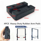 4 x Square Heavy Duty Rubber Arm Pads Car Lift Accessories For Auto Truck Hoists