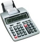 Casio HR-100TM Two Color Portable Printing Calculator 12 Digit LCD Black and Red