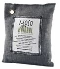 Moso Natural Air Purifying Bag. Odor Eliminator for Cars Closets Bathrooms an...
