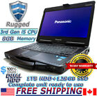 Panasonic Toughbook CF-53 MK2 i5 2.6GHz 8GB RAM DUAL HDD 128+1TB Rugged Laptop