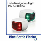 NEW Hella 2NM NaviLED Port and Starboard Pair- White from Blue Bottle Marine