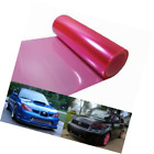 12 by 48 inches Self Adhesive Hot Pink Headlights, Tail Lights, Fog Lights, Side