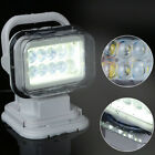White Cree LED Marine Car Remote Control Spotlight Offroad Search Light 50W Well