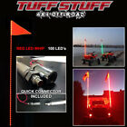 TUFF STUFF XTREME RED 6' LED WHIP- INCLUDES QUICK CONNECT, MOUNT & 100 LED'S