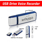 8GB USB Flash Thumb Drive Digital Spy Voice Recorder with 100 Hrs Recording