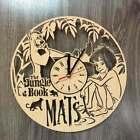 The Jungle Book Nursery Decor Wall Art Clock Gift Mowgli Baloo Wooden Birthday