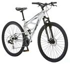 NEW Mongoose Mountain Bike Dual Full Suspension (29-Inch) Bicycle Aluminum MTB
