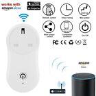 Smart WiFi Remote Control Timer Switch Power Socket US Plug For Amazon Alexa