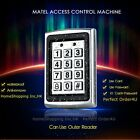 Waterproof Metal 125KHZ RFID Card+ Password Access Control Keypad With Backlight