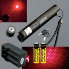 10Miles 650nm G303 Red Lazer Pointer Pen Beam Light Laser + 2xBattery + Charger
