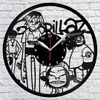 Gorillaz Vinyl Record Wall Clock Home Decor Fan Art Handmade Original Gift #02