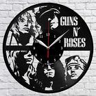 Guns N' Roses Vinyl Record Wall Clock Home Decor Fan Art Original Gift #01