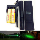 Green 5mW 532nm 10 Mile Powerful Laser military Laser Pen 18650 Battery Charger