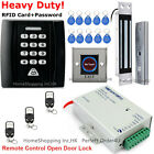 New RFID Card+Password Door Access Control System+Magnetic Lock+3Remote Controls