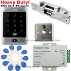 Waterproof RFID Card+Password Door Access Control System+Electric Strike LockTOP