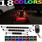 LED Multi Color Snowmobile Underbody Glow Neon Light Kit Arctic Cat Lynx 2000
