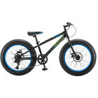 "20"" Boy's Mongoose Pug Fat Tire Bike, Black"