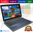 DELL LATITUDE Laptop Computer PC CORE i5 Windows 10 8GB 1TB WiFi DVD NOTEBOOK