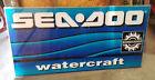 "SEADOO WATERCRAFT BOMBARDIER SIGN 72""X36"" PLEXIGLASS DEALER SEA DOO"