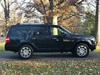 2011 Ford Expedition Leather upholstery; wood grain trim; chrome trim 2011 Ford Expedition Limited 4x4 Black