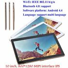 3G Dual SIM Card Dual Standby 10 Inch LCD 800X1280 HD Tablet For Android Lot  SM