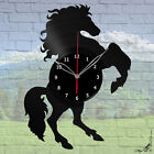 "Horse Vinyl Record Wall Clock Decor Fan Art Original gift Decor 12"" 30cm A233"