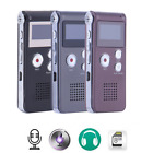 Mini Rechargeable Digital Audio Recorder Dictaphone MP3Player USB Voice Recorder