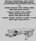 XM979 XM1061 XM1073 WIRING HARNESS 11636714-1 5995-01-257-6445